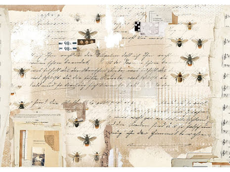 Prima Redesign Rice Paper 11.5X16.25 - Mysterious Notes
