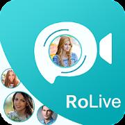 RoLive - Random Video Call Strangers Chat