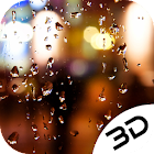 Rain Street Spot Drop Window Live 3D Wallpaper icon