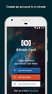 Bitcoin Cash Wallet by Freewallet - náhled