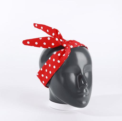 headband bandeau cheveux rosie