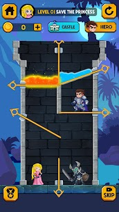 Rescue Hero: Pull the Pin Mod Apk 2.18 (Free Shopping) 2