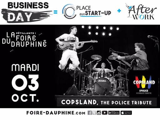 Foire du Dauphiné - mardi 3 octobre c'est le business day !