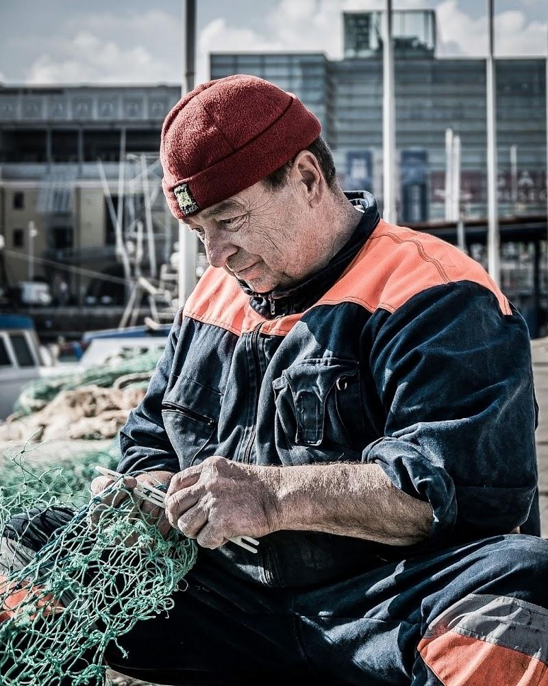Pescatore urbano di Caterina Ottomano