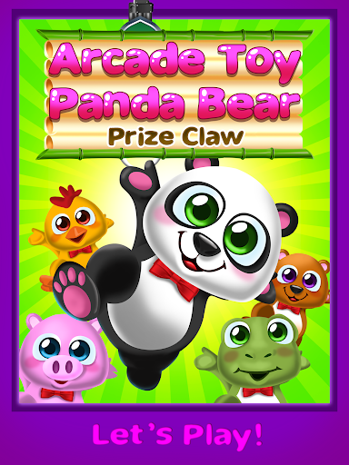 Toy Panda Bear Claw Drop Game