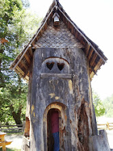 Photo: Treehouse. Look , who's inside!!! It is a 2-story house.