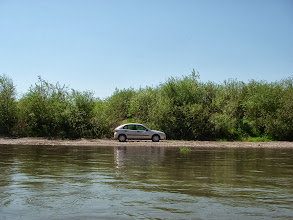 Photo: parking blisko wody :-)