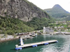 Photo: Geiranger harbor