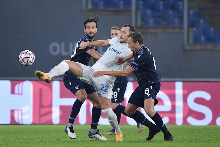 Le Zenit pourrait faire une croix sur sa star contre Bruges en Ligue des champions