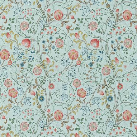 Mary Isobel Tapet - silk blue/pink