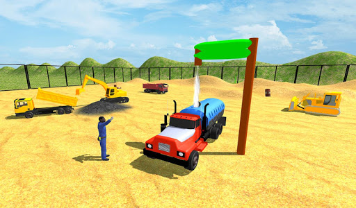 Real City Road Construction 3D filehippodl screenshot 8