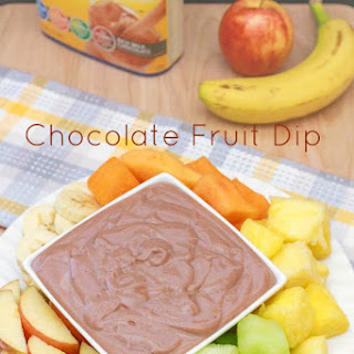 2 Ingredient Chocolate Fruit Dip