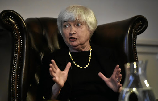 US Federal Reserve chairwoman Janet Yellen. Picture: REUTERS