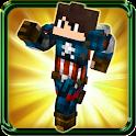 Skins Super Hero for minecraft icon