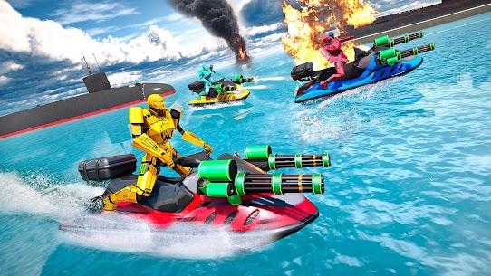 Jet Ski Robot Game: Submarine Robot Transformation 1