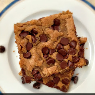 Chewy Chocolate Cookie Bars.