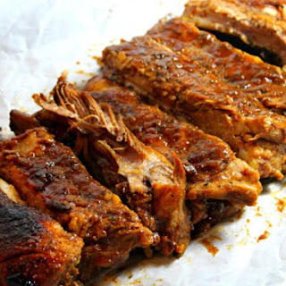 Crockpot Smoky BBQ Pork Ribs Recipe