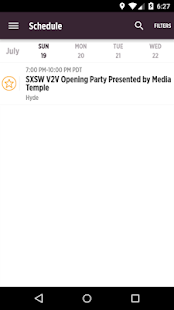 SXSW® V2V Official Event Guide- screenshot thumbnail