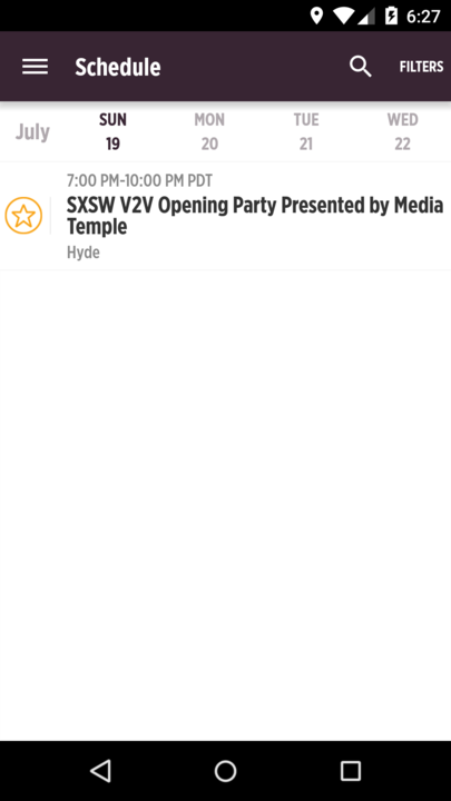 SXSW® V2V Official Event Guide- screenshot