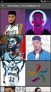 Karl Anthony Towns Wallpaper NBA - náhled