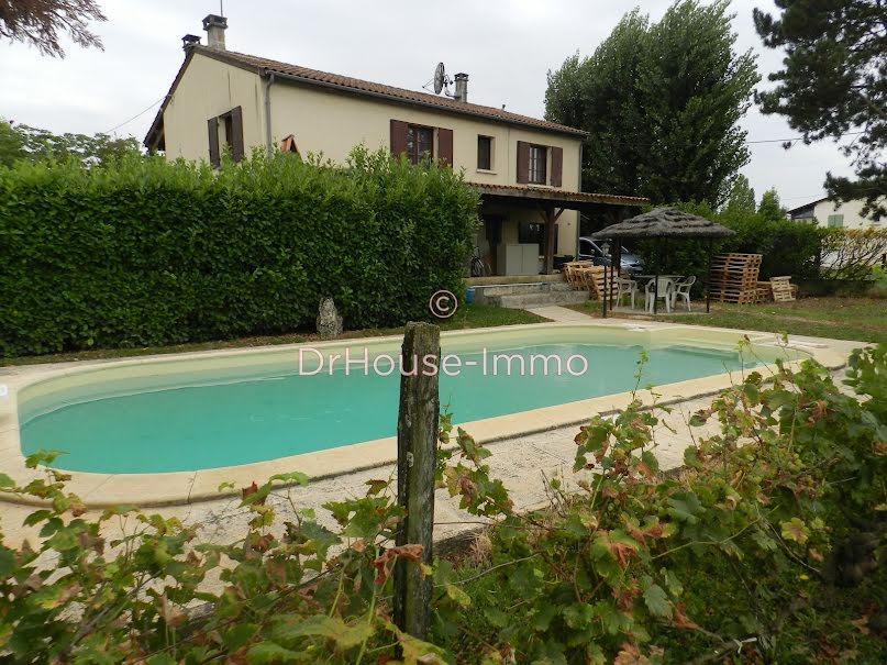 Vente maison 5 pièces 94 m² à Fourques-sur-Garonne (47200), 159 000 €