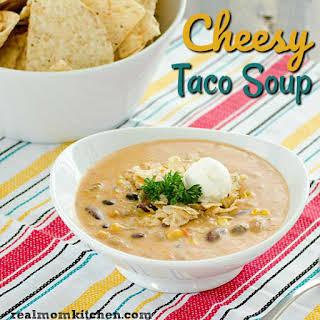 Cheesy Taco Soup.