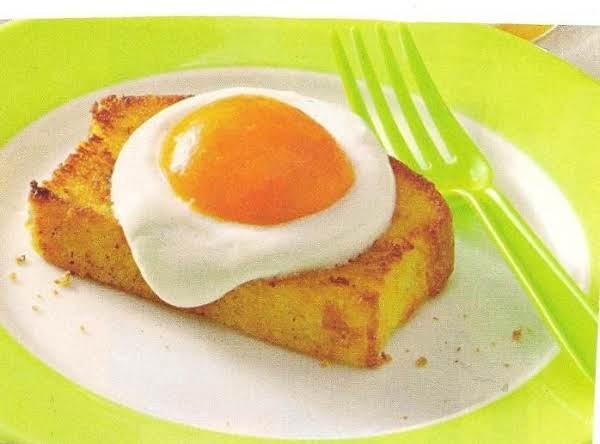 Sunny-side-up Dessert