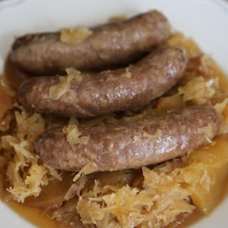 Crock Pot German Style Brats.