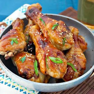Miso Maple Glazed Chicken.