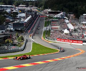 """'Eerste acht races van F1-seizoen liggen vast en Spa-Francorchamps is daarbij"""""""