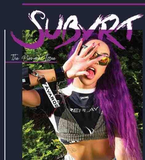 Pabllo Vittar na capa da revista Subvrt Magazine