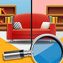 Find the Difference Rooms - spot the 5 differences icon