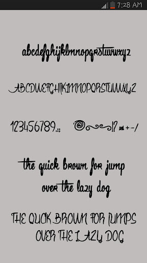 Free Fonts Style 2