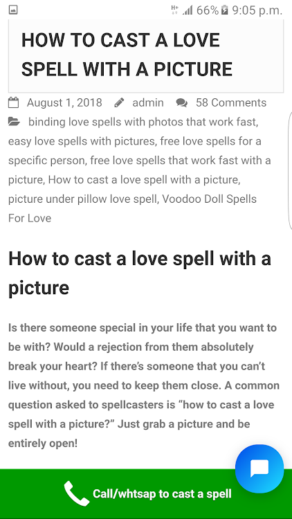 Cast A Spell - Love Spells Powerful Spell Caster – (Android Apps