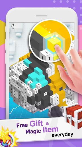 Voxel Doodle - Color By Number 3D 1.2 Screenshots 4