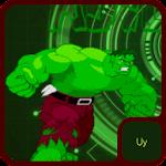 Incredible Green Hero Icon