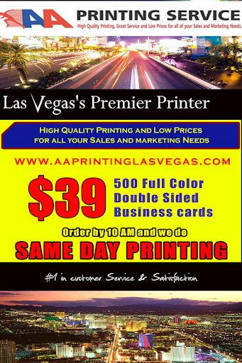 AA Printing LV