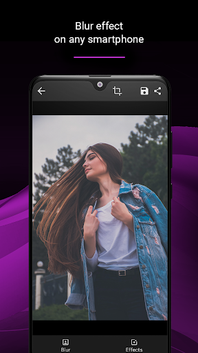 Blur photo background - Auto editor 2.1.4 screenshots 2