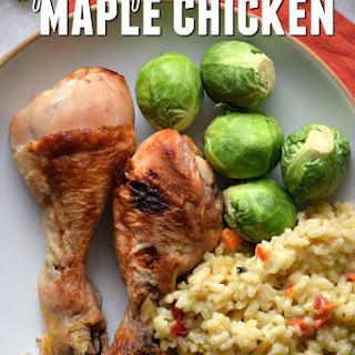 Slow Cooker Maple Chicken
