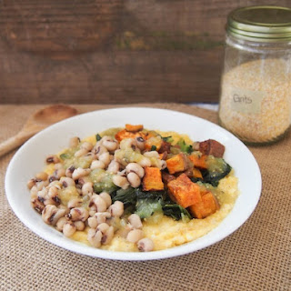 Southern Goat Cheese Grits & Vegetable Bowl