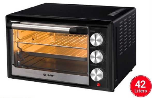 Easy to use and easy to clean this type of baking oven: shopee