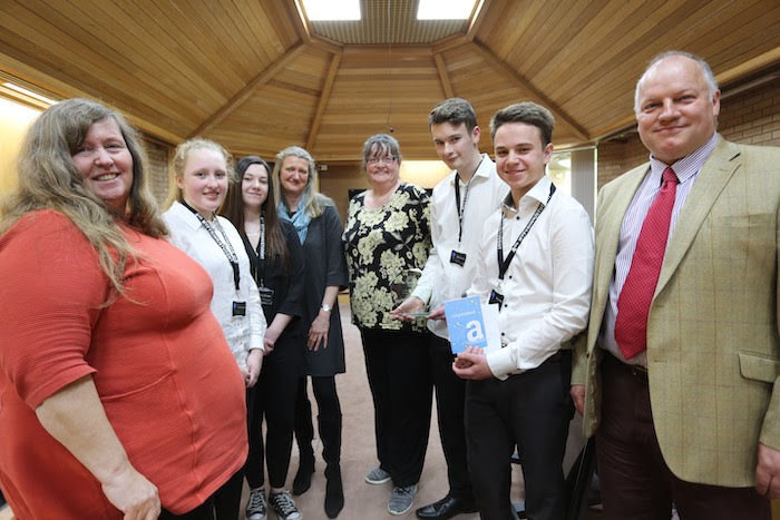 Newtown students scoop business competition