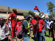 Economic Freedom Fighters Student Command leaders tell Durban University of Technology students to leave the Steve Biko campus on Monday