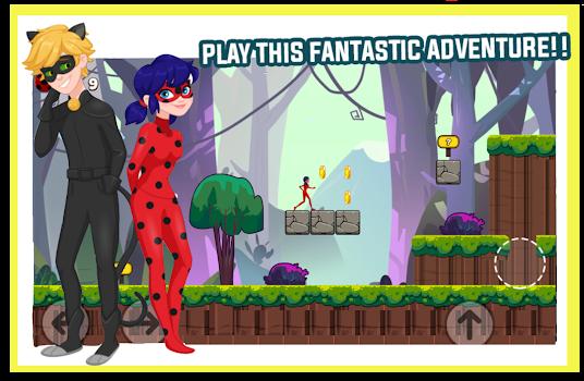 Ladybug The Hero Chibi RUN