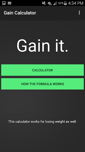 Gain Calculator