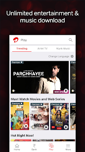 Airtel Thanks – Recharge, Bill Pay, Bank, Live TV App Latest Version Download For Android and iPhone 8