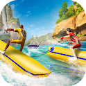 Banana Boat Water Speed Race icon