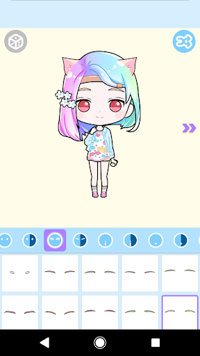Cute Avatar Maker: Make Your Own Cute Avatar 2.0.2 Screenshots 5