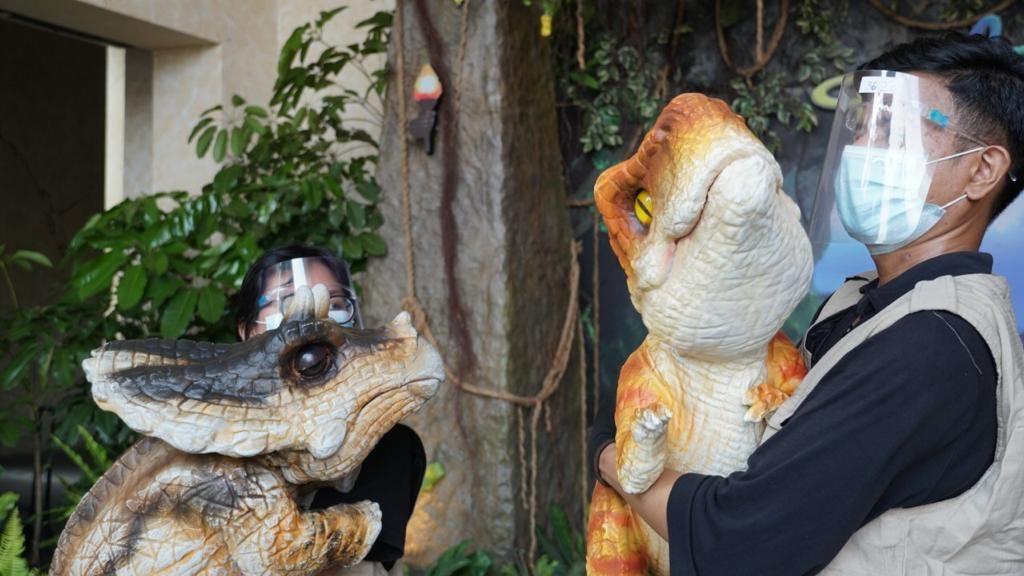Wisata Edukasi Bareng Baby Dinosaurus Menggemaskan di Dufan, Ancol