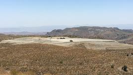 Inicio de las obras en el Cerro Roldán, este verano.